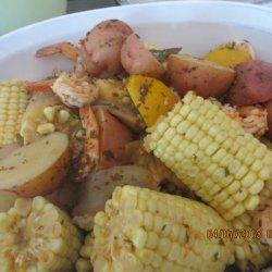 Dirty Down-Home Cajun Shrimp Boil