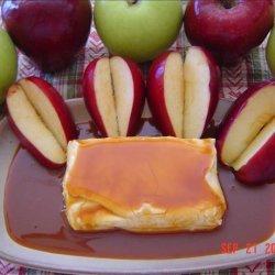 Caramel Cream Cheese Apple Dip
