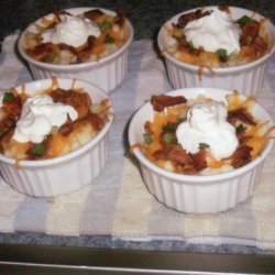 Simply Loaded Mashed Potatoes #5FIX