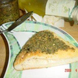 Garlic Pesto Spread