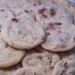 Super Easy Cranberry Sugar Cookies