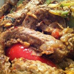 Ginger Garlic  Beef Stir-Fry
