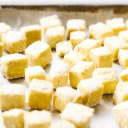 Crispy Garlic Tofu Bites