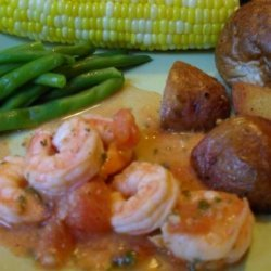 Skillet Shrimp and Tomatoes