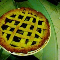 Easy Fresh Cherry Pie recipe