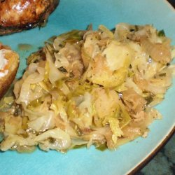 Abc's  Sauteed Apple, Brussels Sprouts and  Cabbage