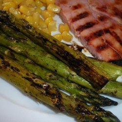 Roasted Asparagus With Balsamic Browned Butter - Healthy Low-Cal