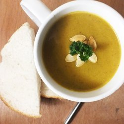 Jamaican Pumpkin-coconut-soup