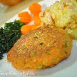 Simple Savory Salmon Patties