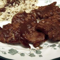 Pork Medallions With Chocolate-Orange Sauce