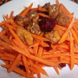 Carrot Salad With Cinnamon,lemon and Honey recipe