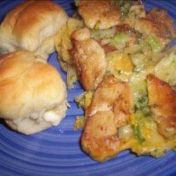 Au Gratin Chicken & Broccoli