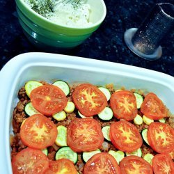 Ww Beef and Vegetable Cheese Casserole