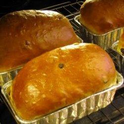 Christmas Bread (Jule Kaga) recipe