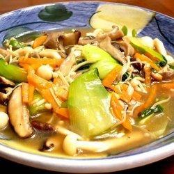 Baby Bok Choy and Mushroom Stir Fry