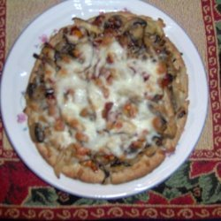 Wild Mushroom Pizza With Caramelized Onions, Sun-Dried Tomato recipe