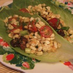 Lettuce Wrapped Corn