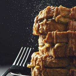 Caramel-Apple French Toast (Vegan)