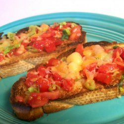 Bruschetta (With or Without Cheese)