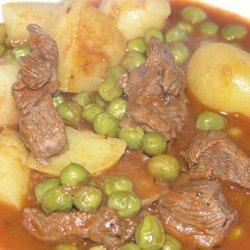 Croatian Lamb/Beef Stew With Green Peas