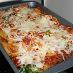 Sausage-And-Pepper Baked Ziti