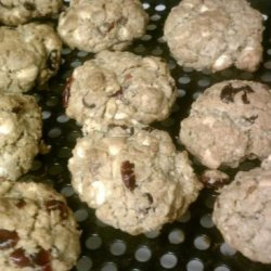 White Chocolate,  Cranberry, Oatmeal & Walnut Cookies