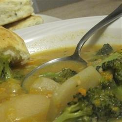 Leftover Scalloped Potato Soup