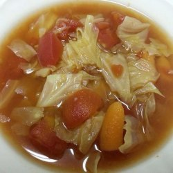 Sweet and Sour Cabbage Soup