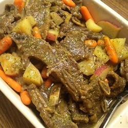 Korean Beef Short Rib Stew (Galbi Jjim) recipe