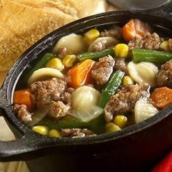 Savory Sage Sausage and Vegetable  Stoup  recipe