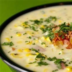 Classic Slow Cooker Corn Chowder