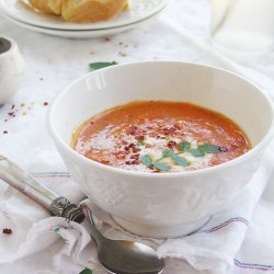 Tomato Coconut Soup