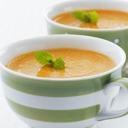 Spiced Red Lentil-Carrot Soup