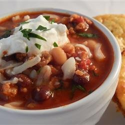 Chicken and Chorizo Chili