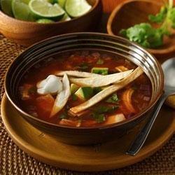 Easy Tortilla Soup from Old El Paso(R)
