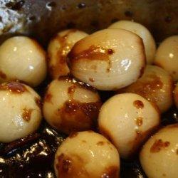 Honey Glazed Pearl Onions
