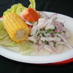 Peruvian Ceviche De Pescado