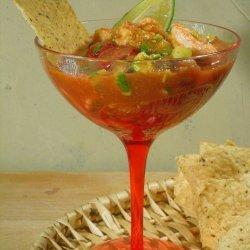 Classic Mexican Shrimp Cocktail