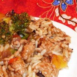 Szechuan Turkey and Broccoli Casserole