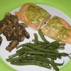 Baked Salmon With Dill Mustard Sauce