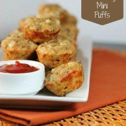 Mini Cheeseburger Puffs