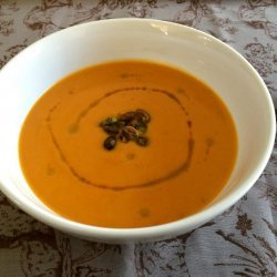 Carrot and Butternut Squash Soup