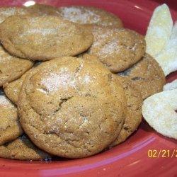 Triple X Ginger Cookies