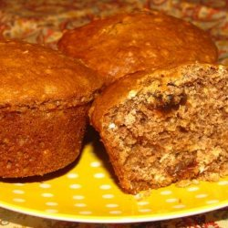 Healthy Oatmeal-Raisin-Cookie Muffins
