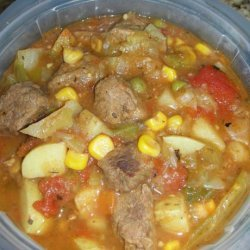 Big Brother Ted's Veggie Beef  stoup !