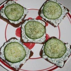Cucumber Sandwiches (1 Ww Point Each)
