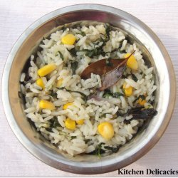Corn Methi Pulao