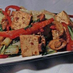 Hoisin Tofu With Vegetables