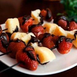 Strawberry Shortcake Kabobs (3 Ww Points)