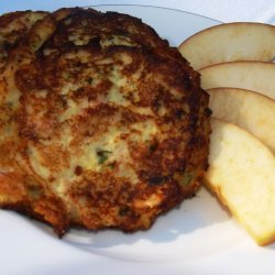 Holiday leftovers Potato Pancakes